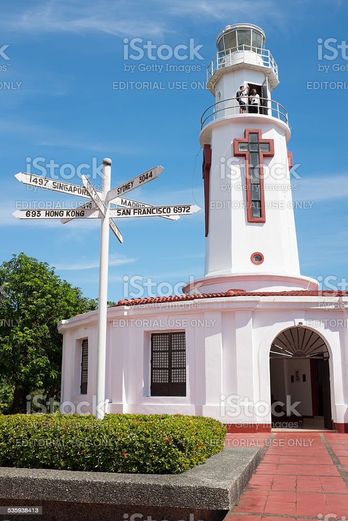 Spanish Lighthouse royalty-free stock photo