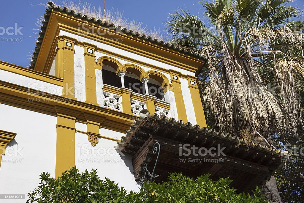 Spanish Mansion royalty-free stock photo