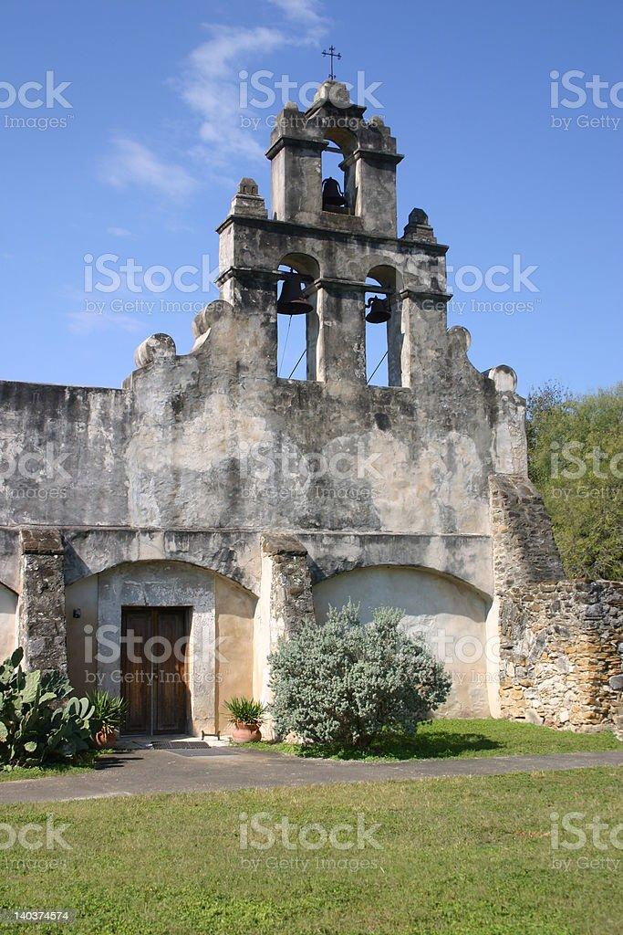 Spanish Mission Bells stock photo