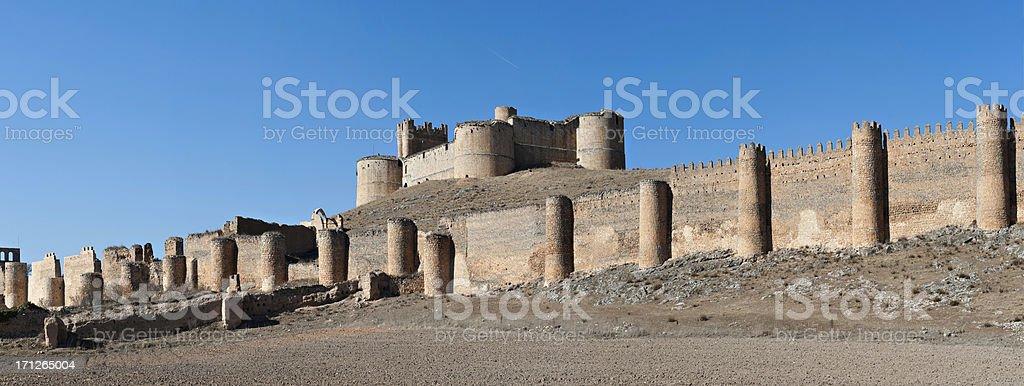 Spanish monument, Soria stock photo