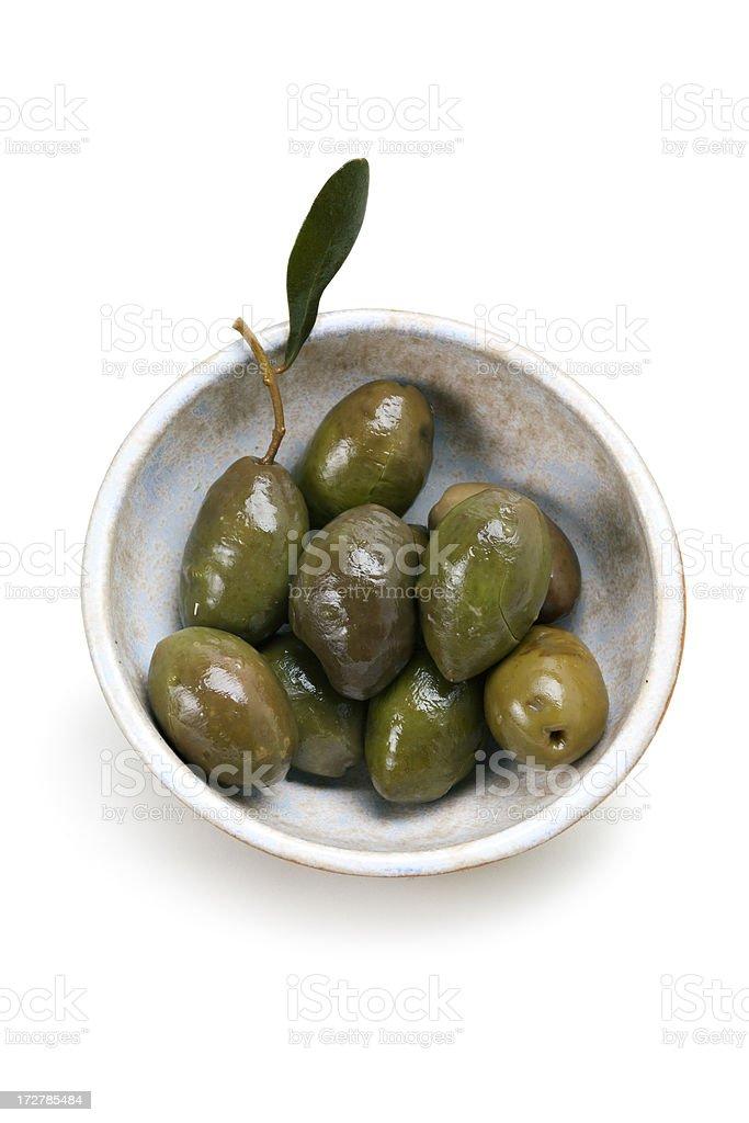 Spanish olives 2. stock photo