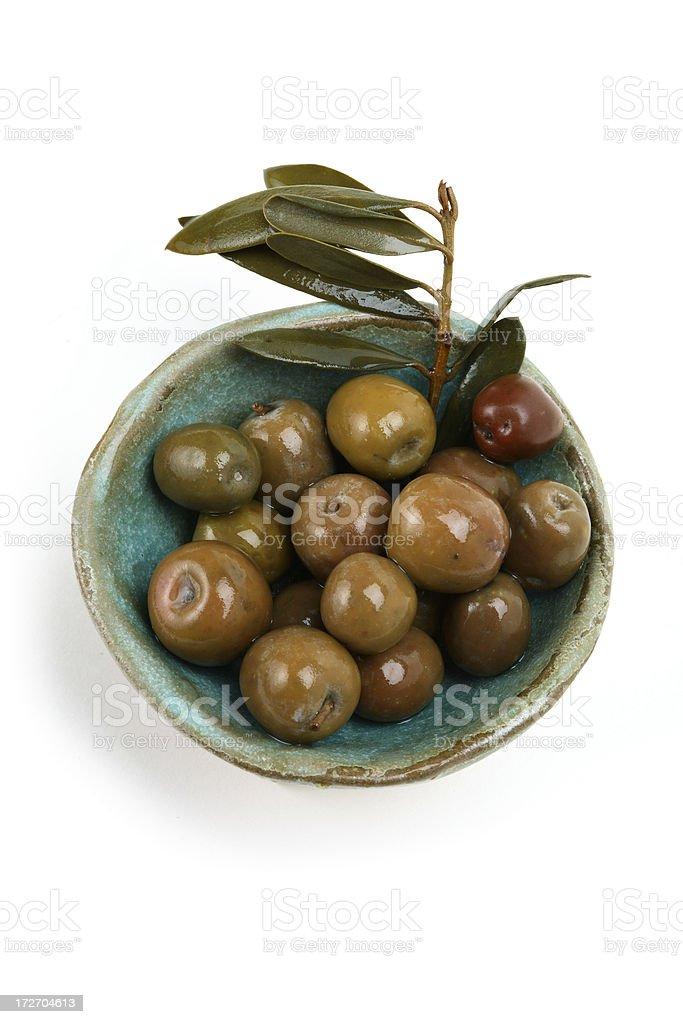 Spanish olives. stock photo