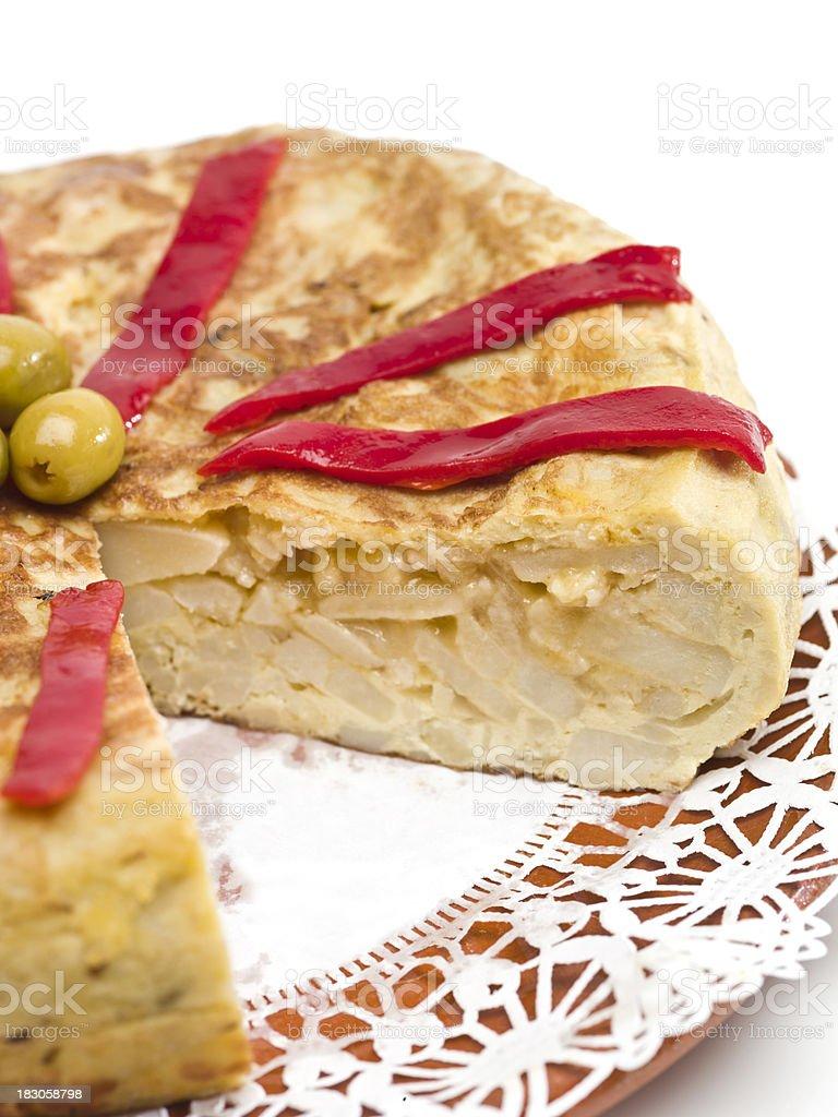 Spanish Omelet stock photo
