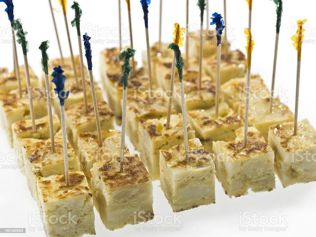 Spanish Omelet Snacks stock photo