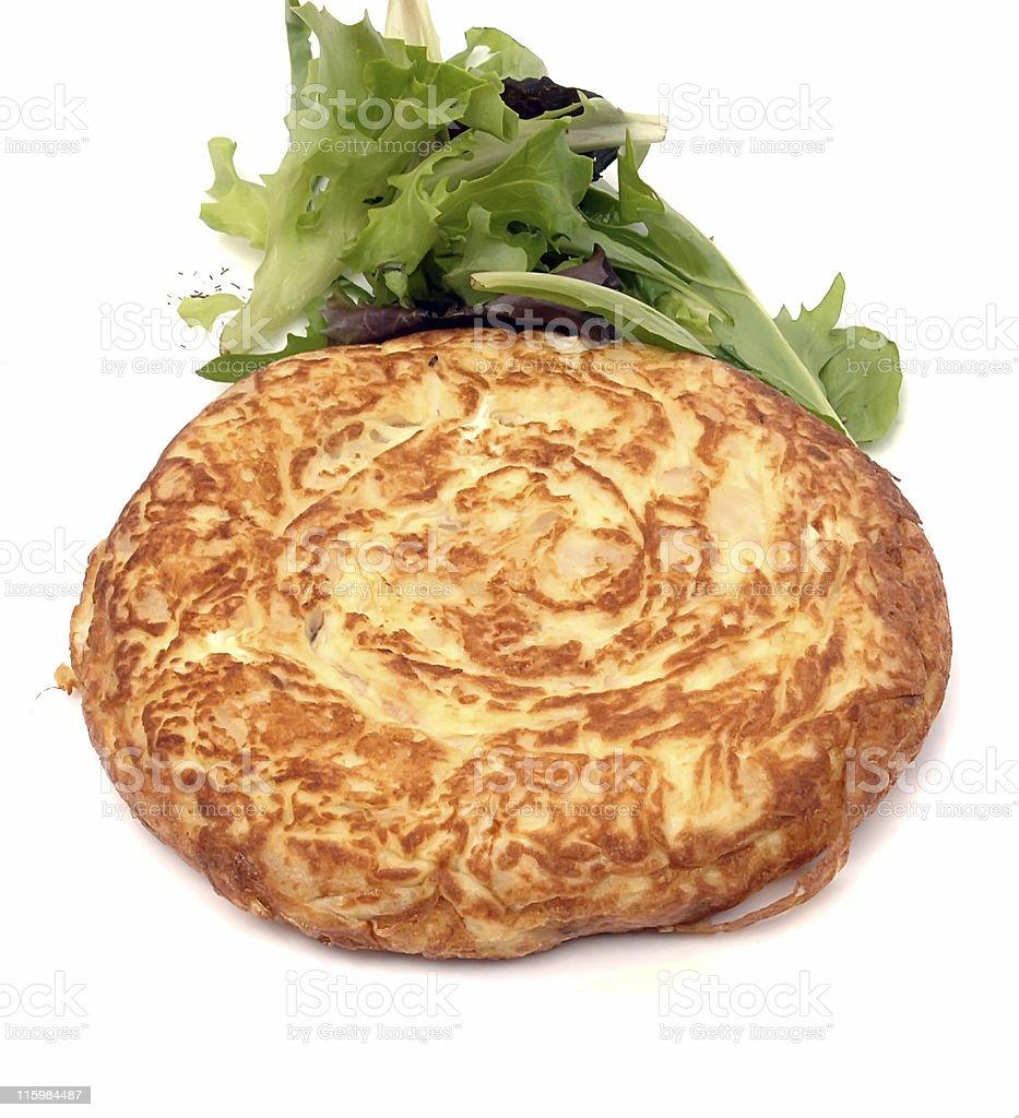 Spanish Omelette (tortilla de patatas) royalty-free stock photo