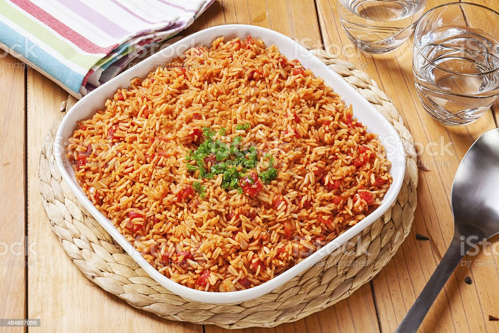 Spanish Rice stock photo