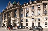 Spanish Riding School and the Hofburg, Vienna.