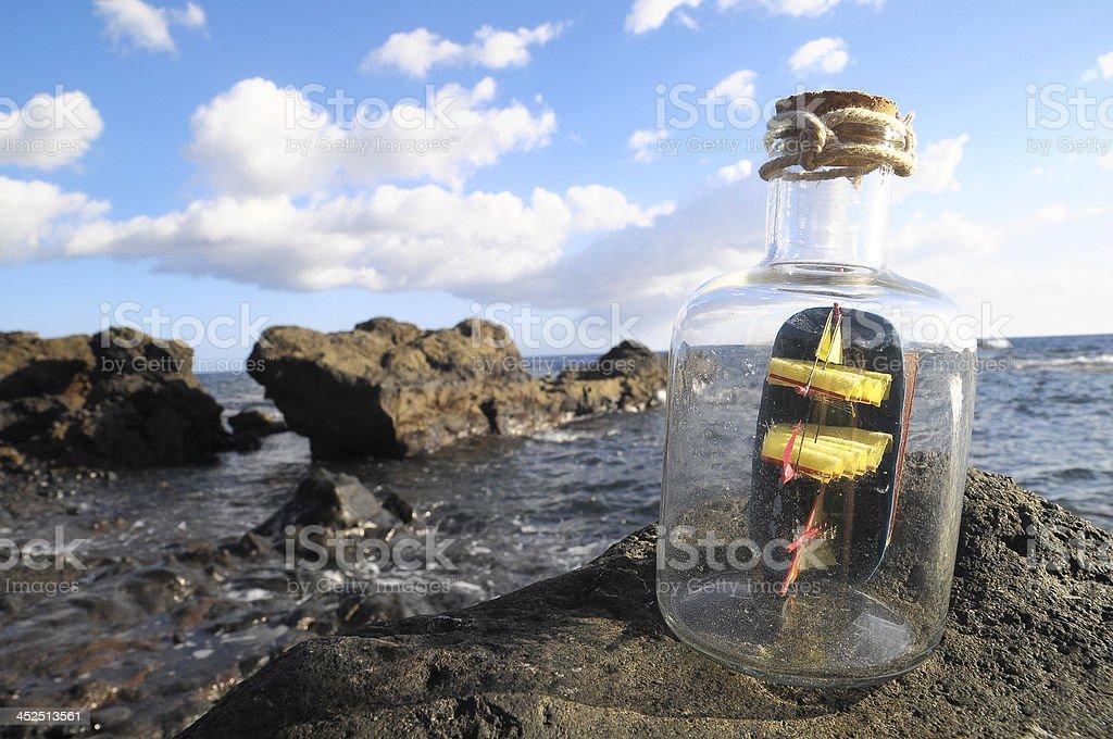 Spanish Sailing Boat royalty-free stock photo