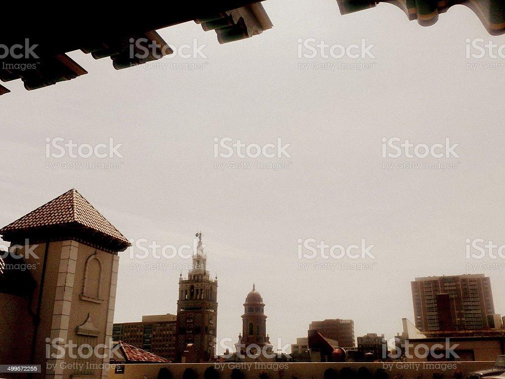 Spanish Skyline stock photo