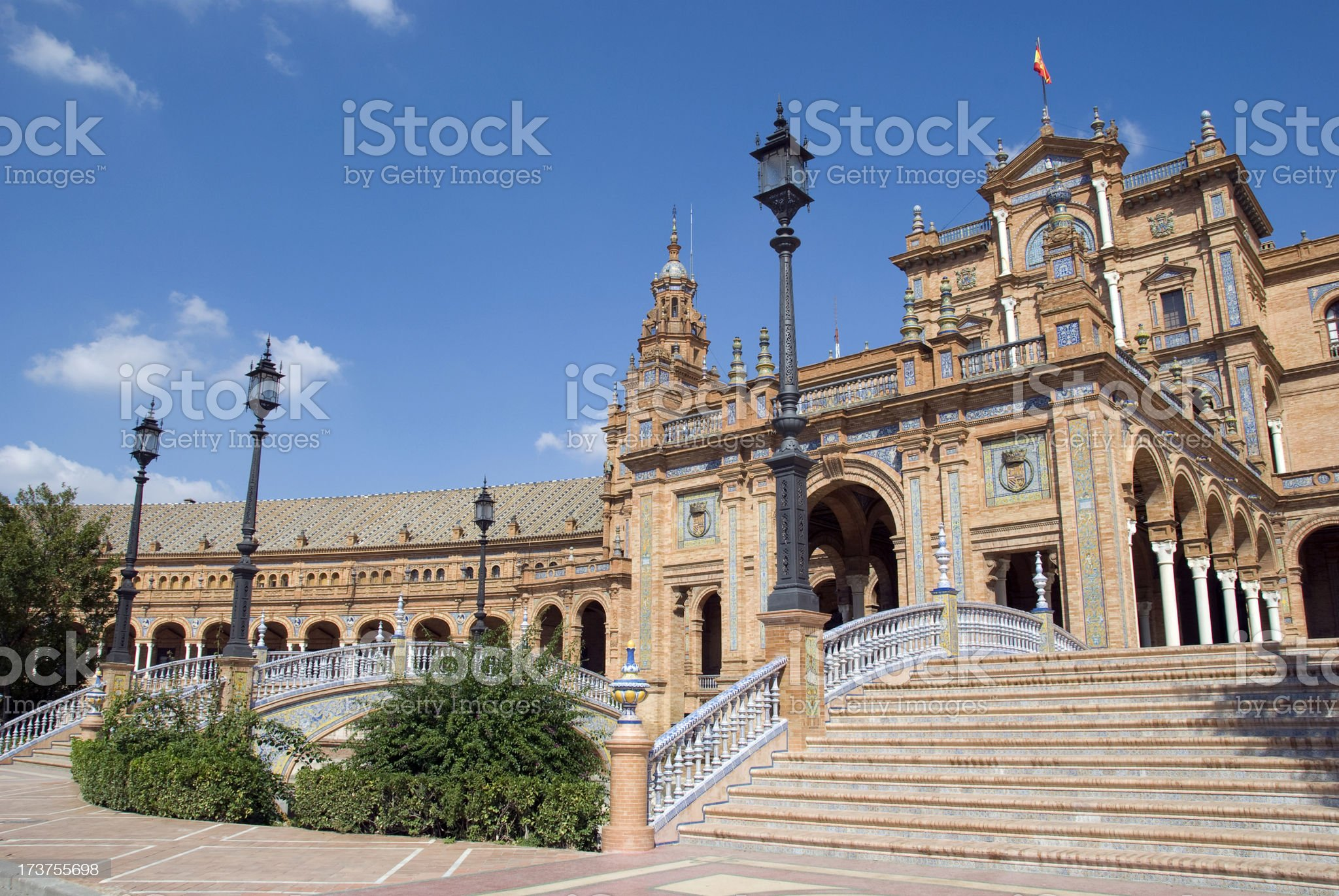 Spanish square royalty-free stock photo