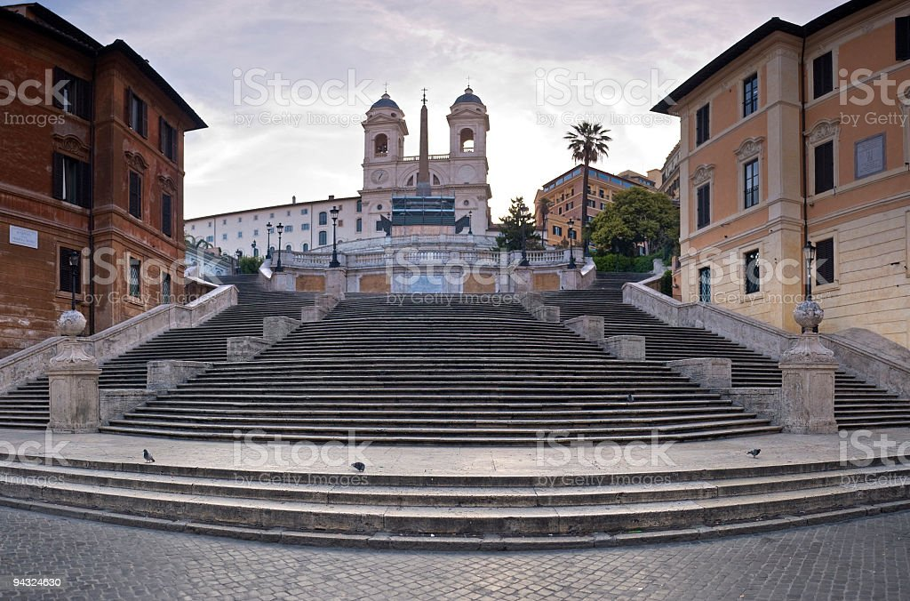 Spanish Steps, Piazza di Spagna, Rome stock photo