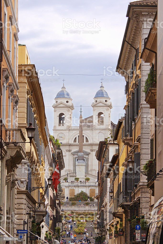 Spanish Steps stock photo