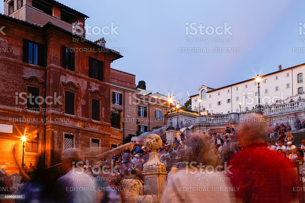 Spanish Steps, Rome - Italy stock photo