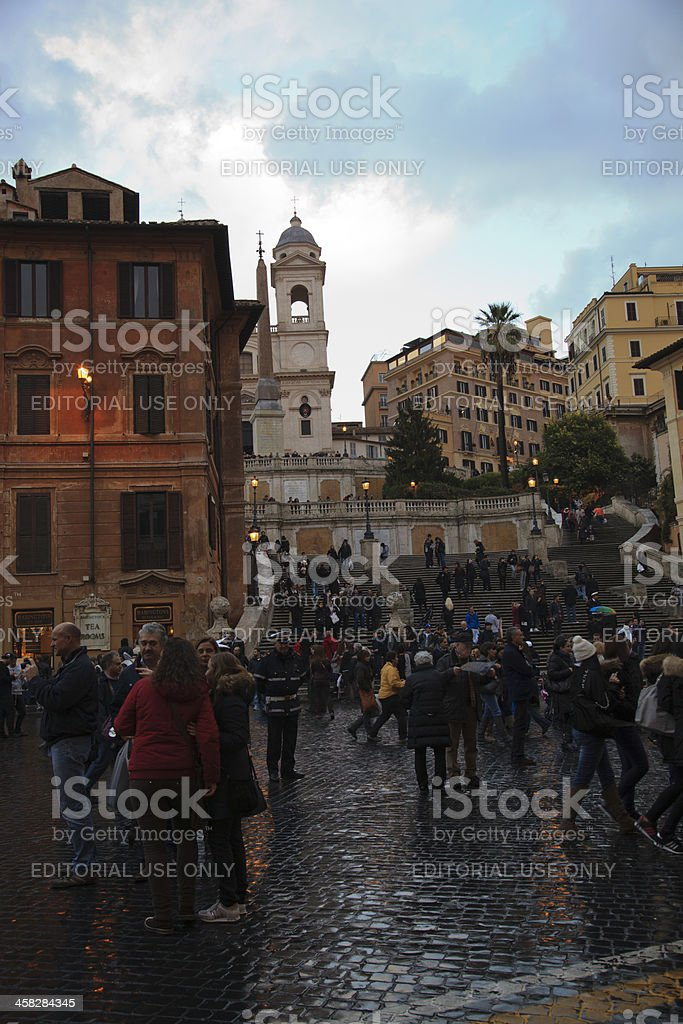 Spanish Steps, Rome royalty-free stock photo