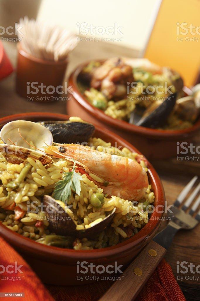 Spanish Stills: Paella royalty-free stock photo