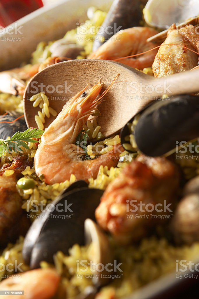 Spanish Stills: Paella royalty-free stock photo