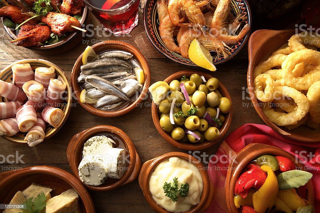 Spanish Stills: Tapas - Variety stock photo