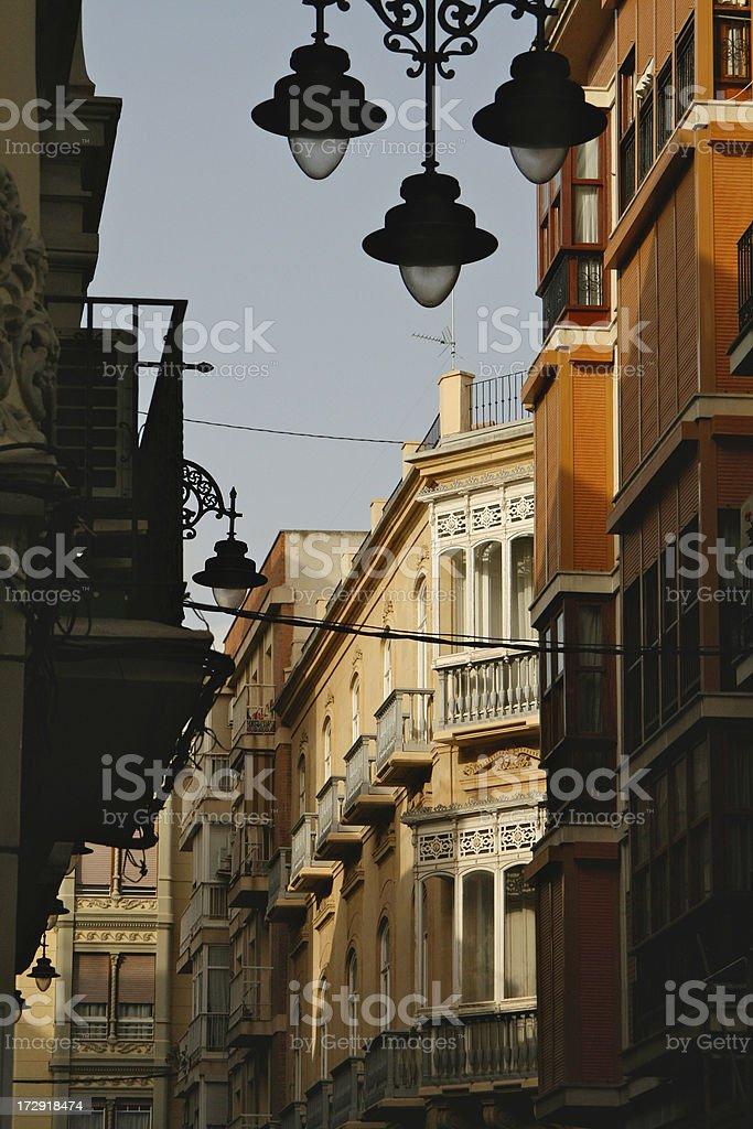 Spanish street royalty-free stock photo