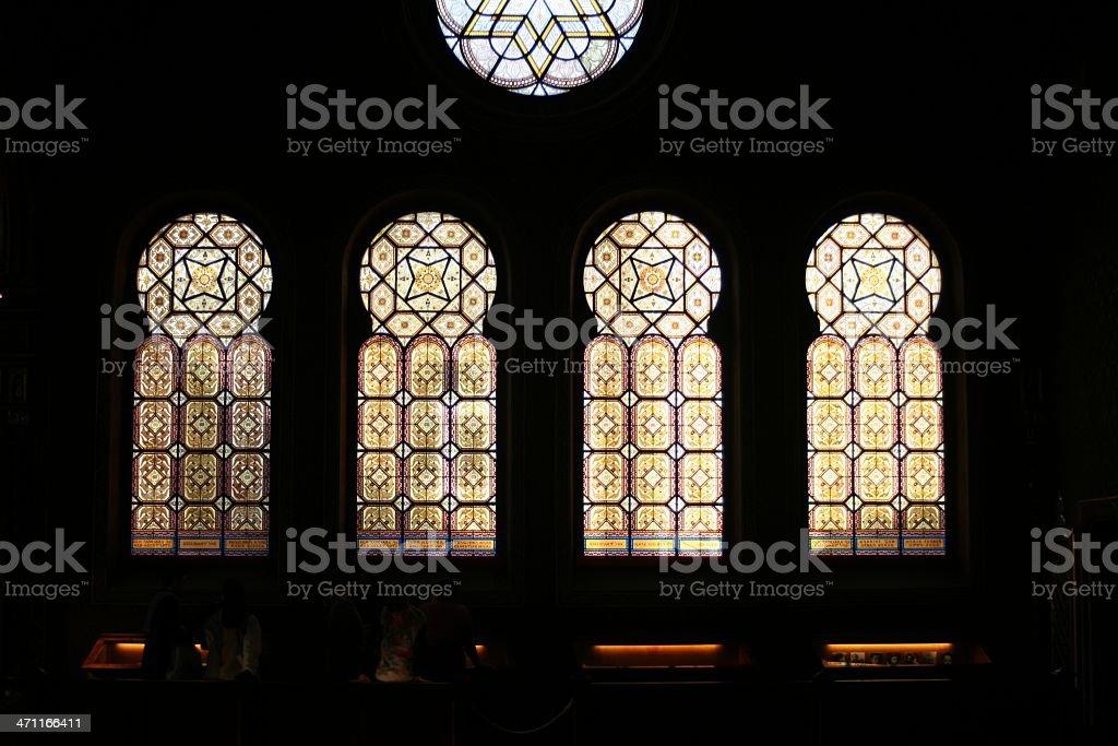 Spanish Synagogue royalty-free stock photo