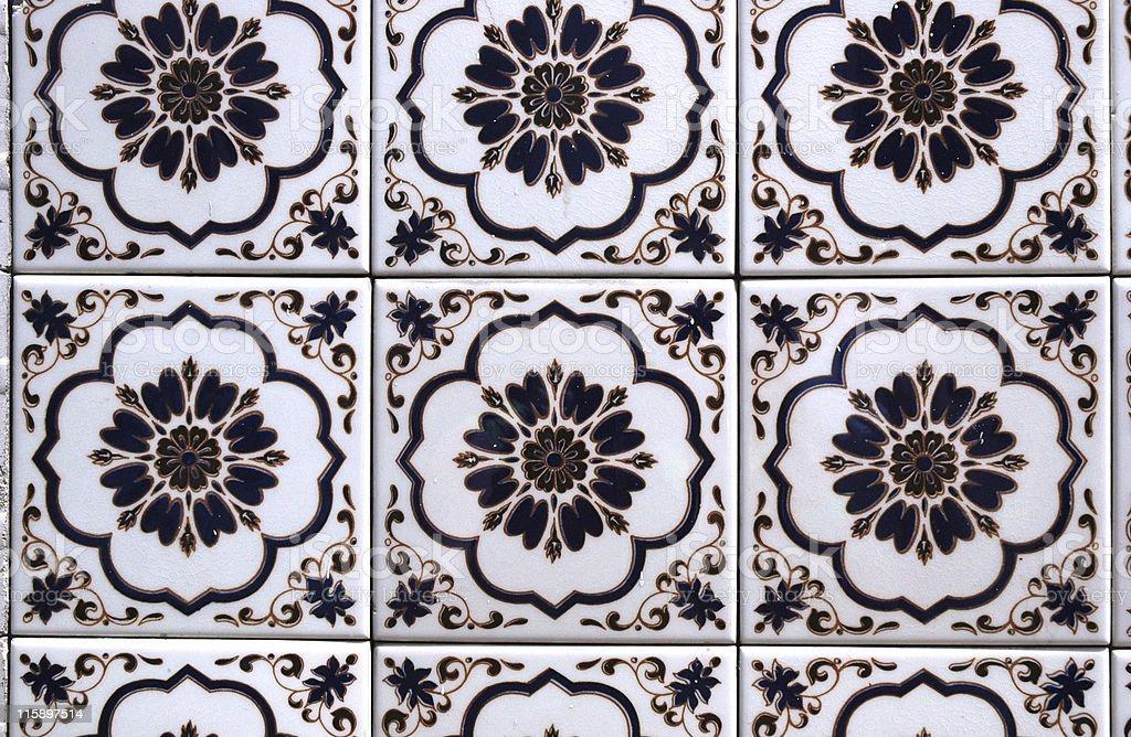 Spanish Tile royalty-free stock photo