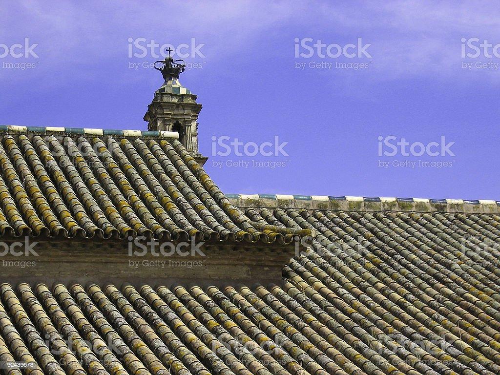 spanish tiles royalty-free stock photo