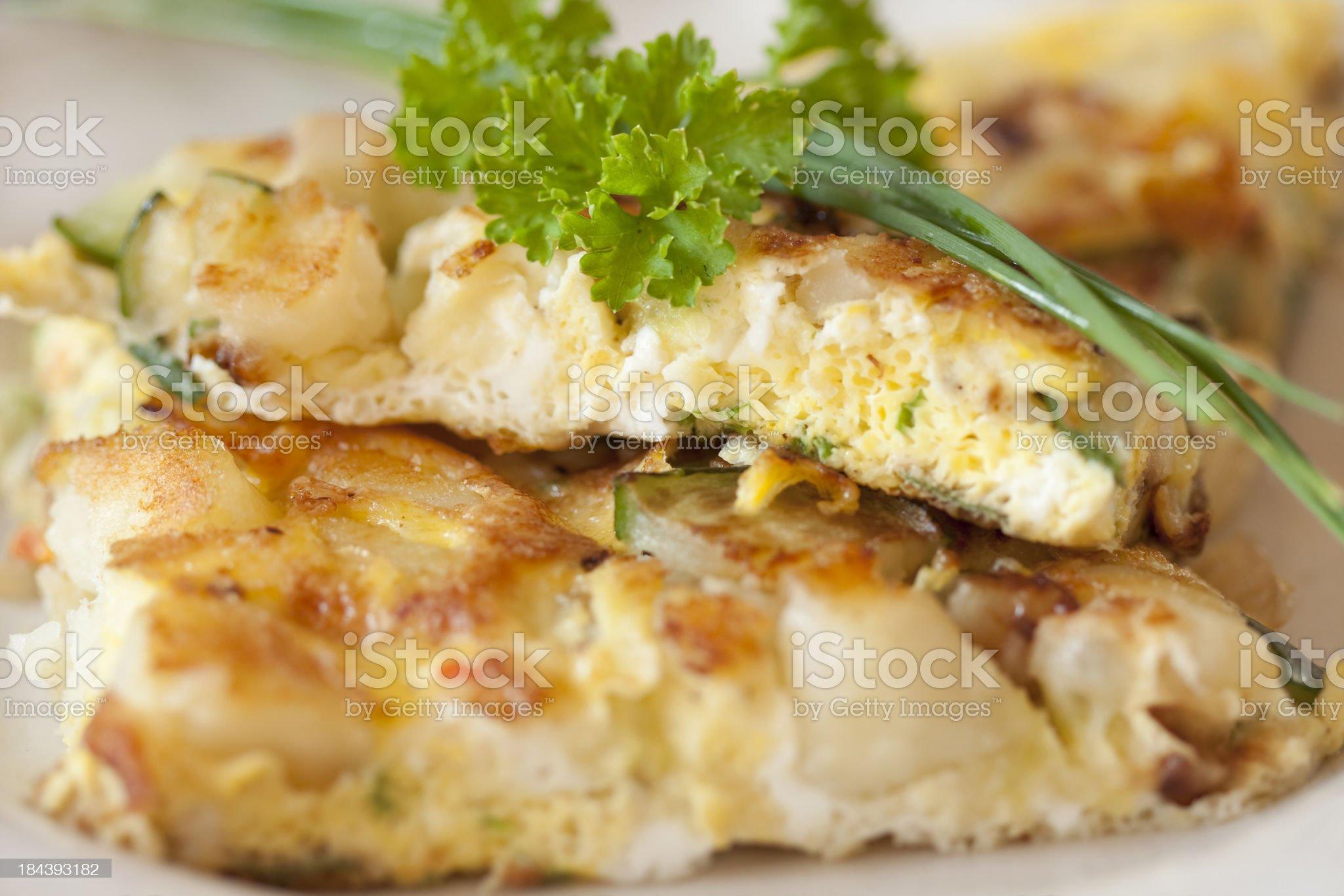 spanish tortilla royalty-free stock photo
