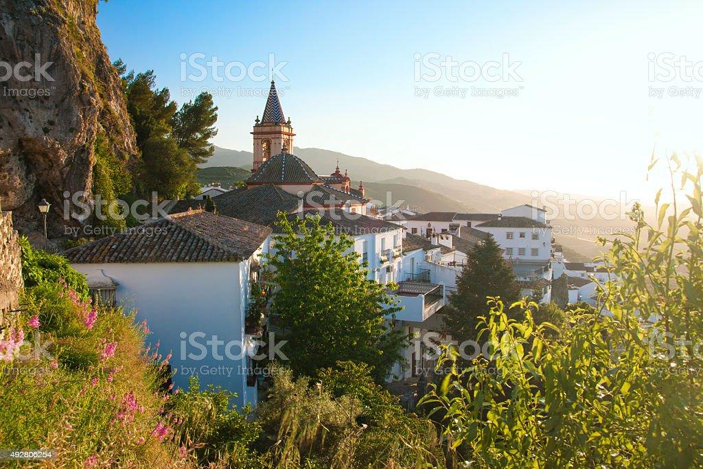 Spanish town: Zahara stock photo
