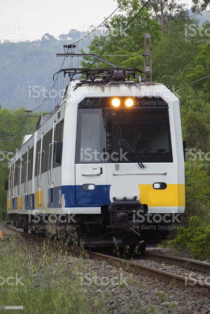 Spanish train stock photo