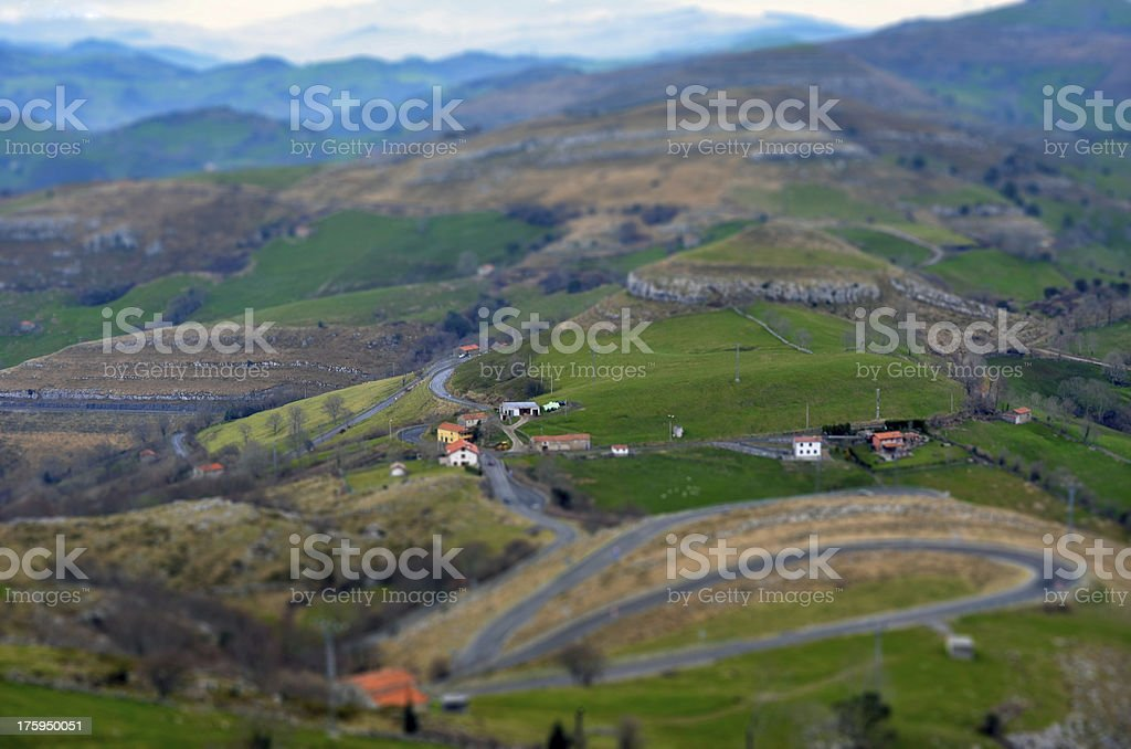 Spanish valley royalty-free stock photo