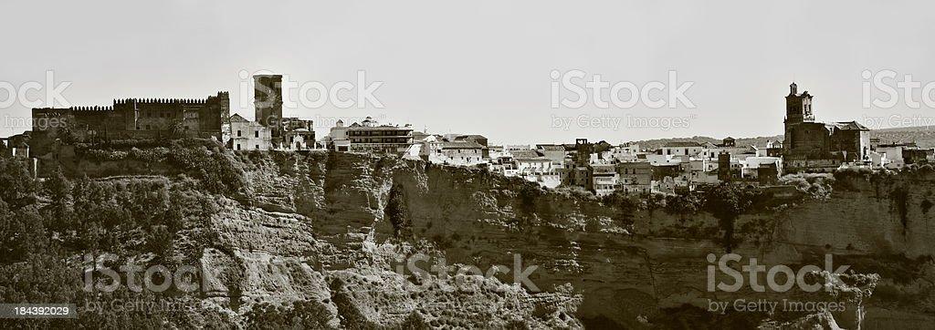 Spanish village. Cadiz royalty-free stock photo