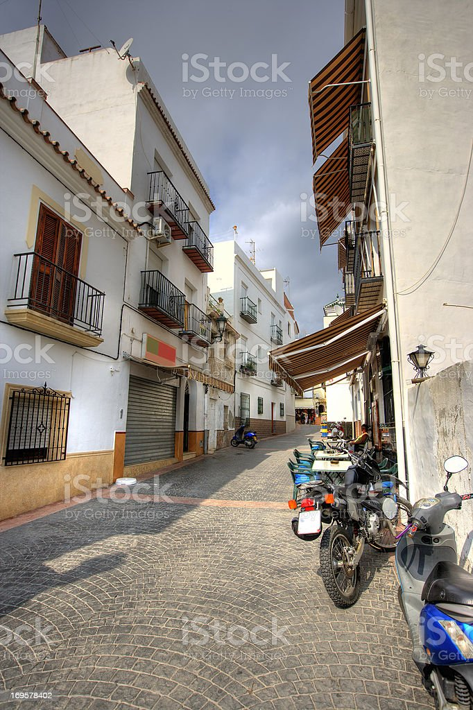 Spanish village royalty-free stock photo