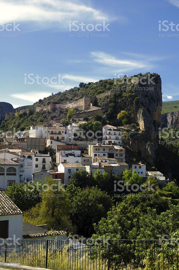 Spanish village, traditional architecture. Chulilla - Valencia ( stock photo