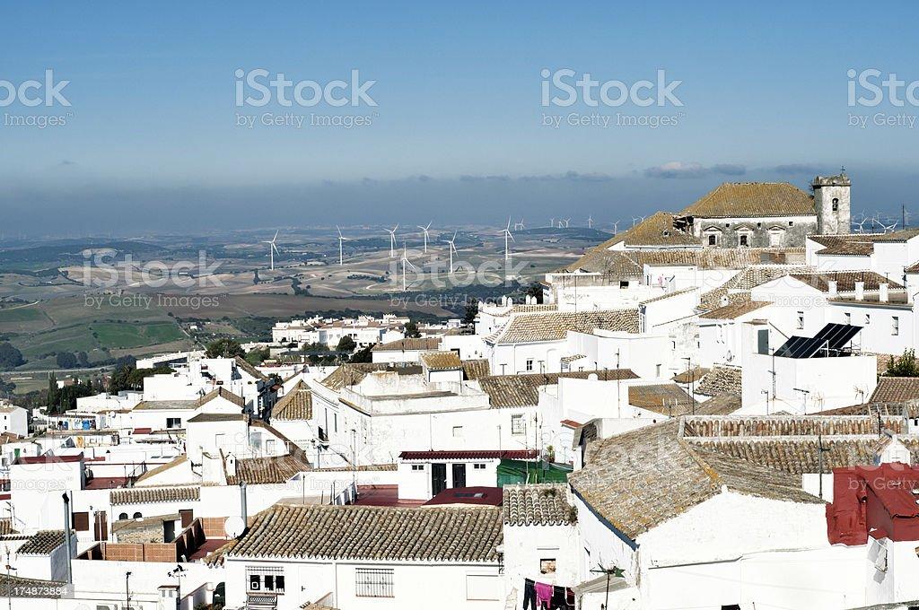 Spanish village view royalty-free stock photo