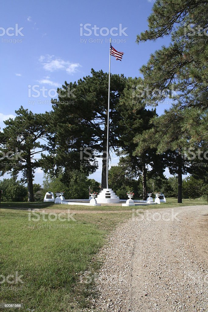 Spanish War memorial stock photo