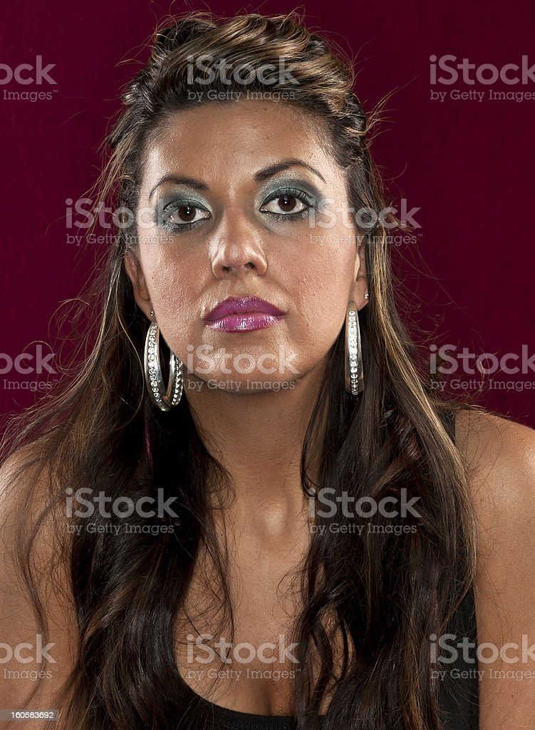 Spanish woman (real people) royalty-free stock photo