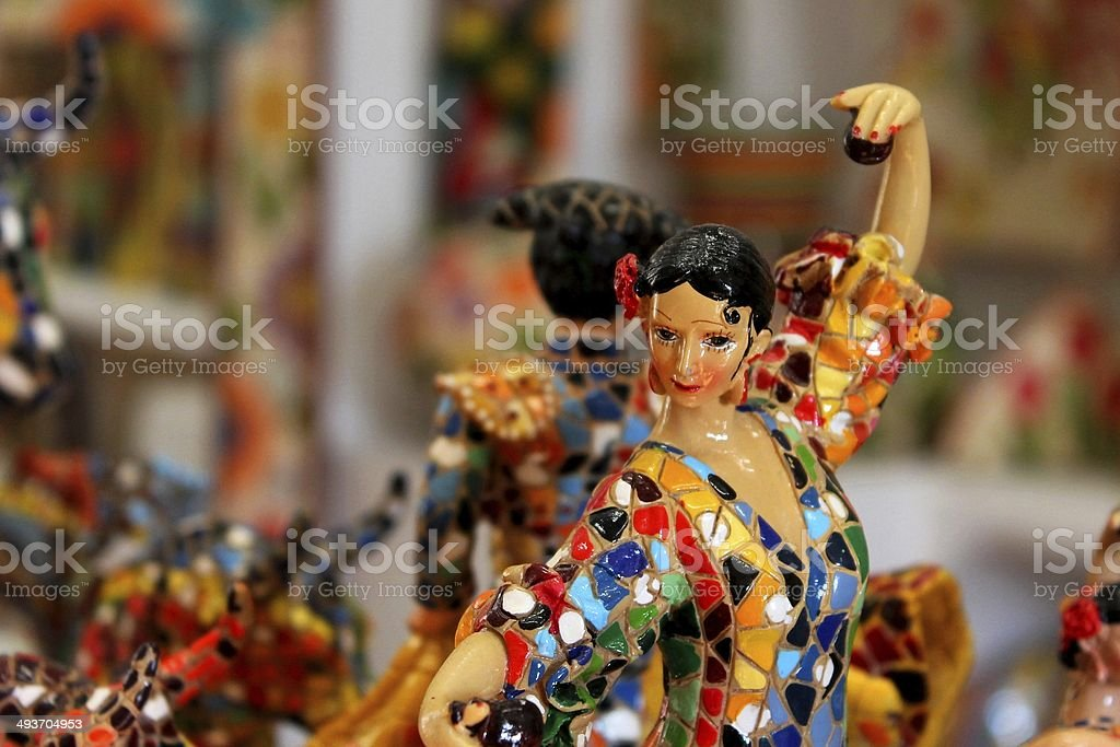 Spanish woman stock photo