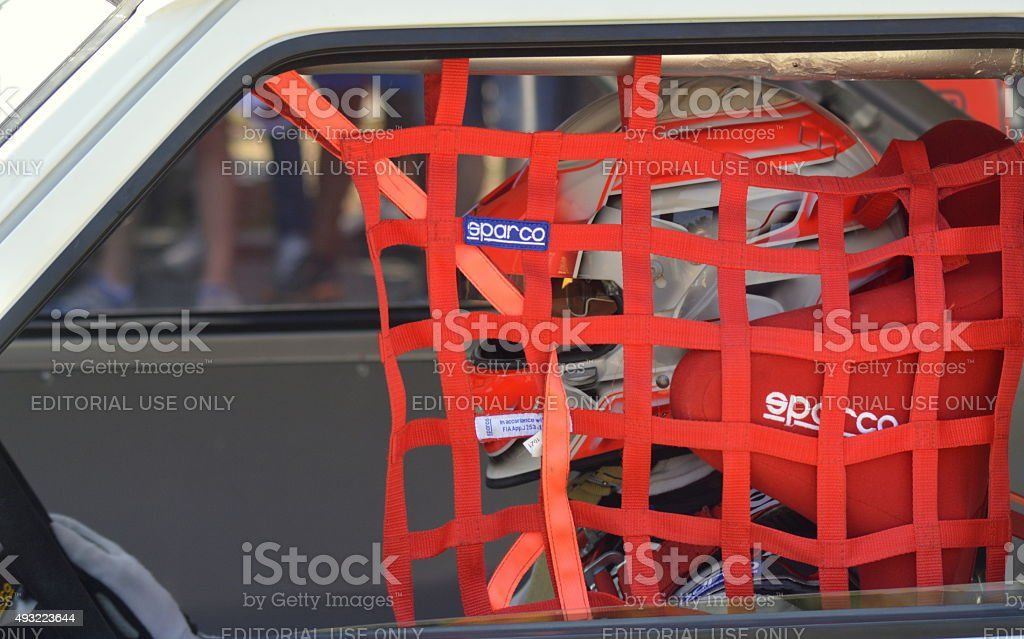 Sparco Harness Belt and Seats stock photo