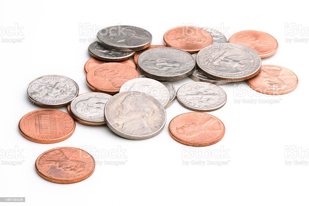 spare change stock photo