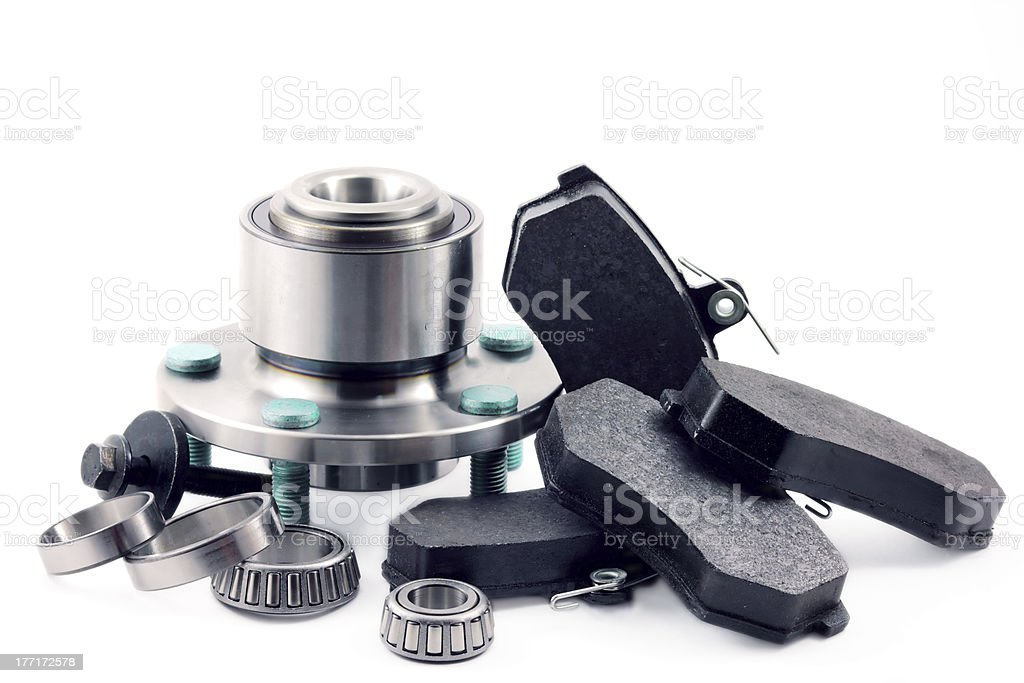 Spare parts for car royalty-free stock photo