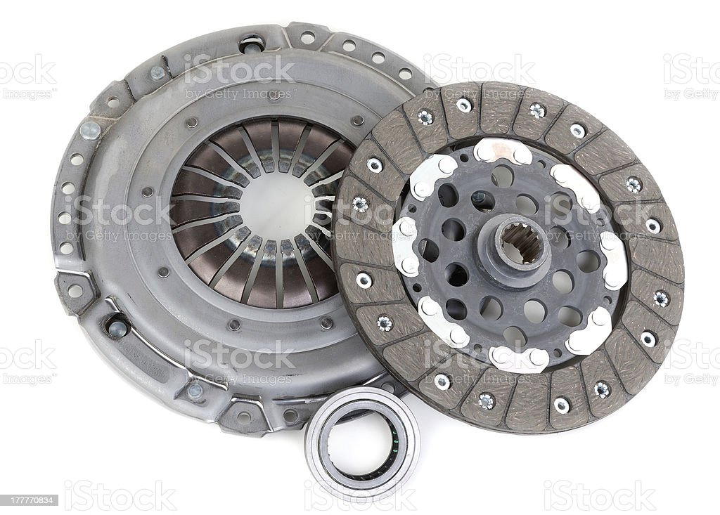 Spare parts forming clutch stock photo