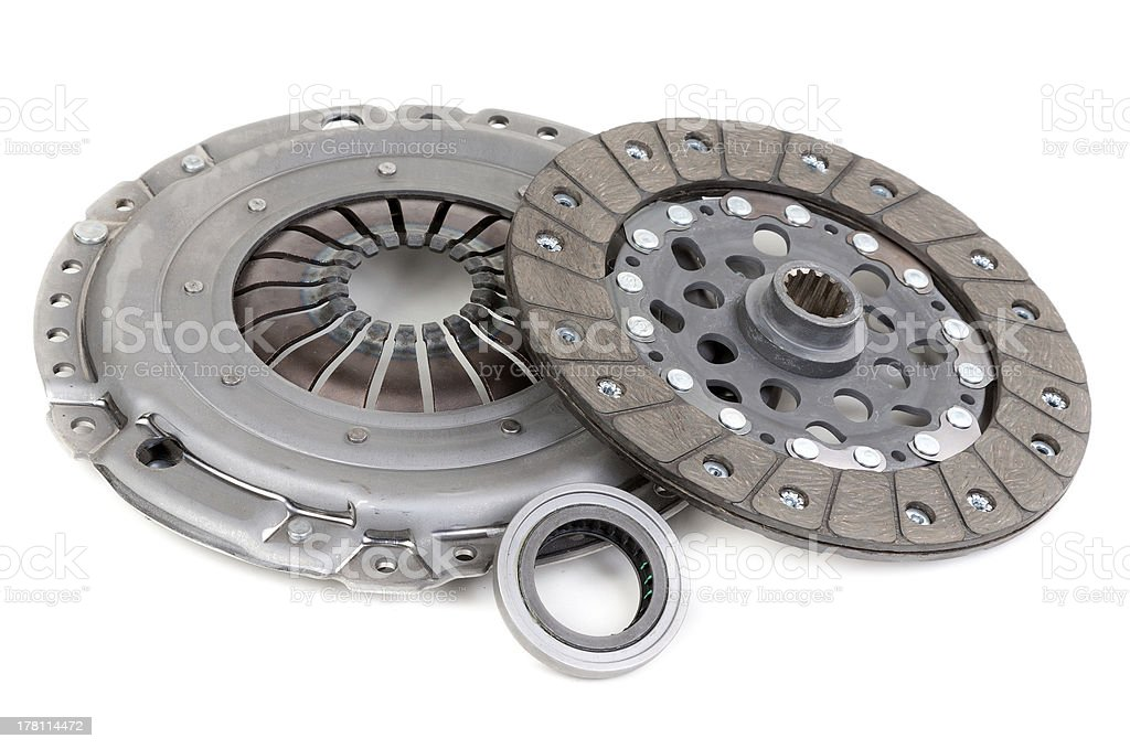 Spare parts forming clutch royalty-free stock photo