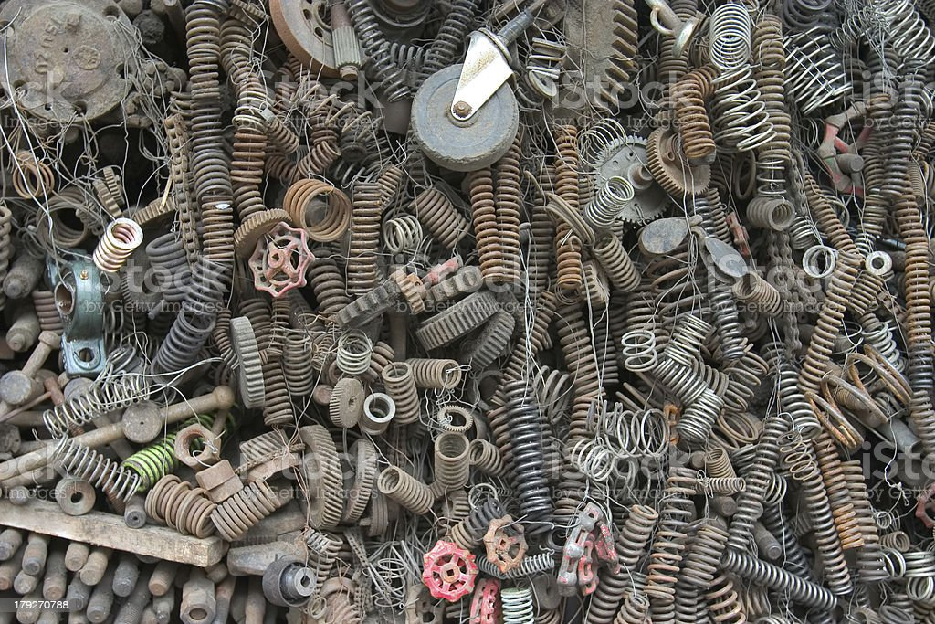 Spare Parts royalty-free stock photo
