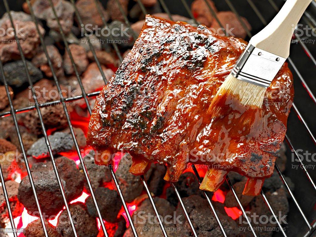 Spare Rib stock photo