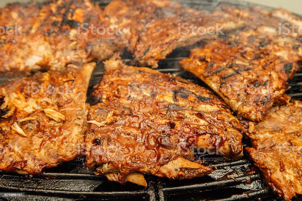Spare ribs stock photo