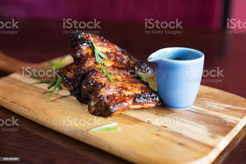 Sparerib stock photo