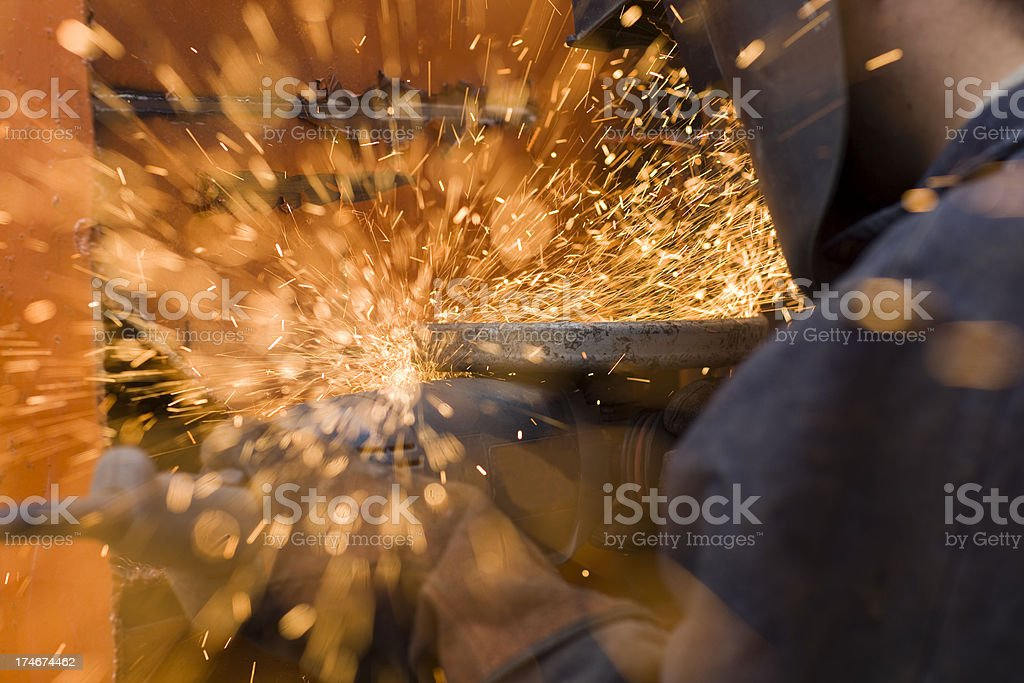 Spark Meteors royalty-free stock photo