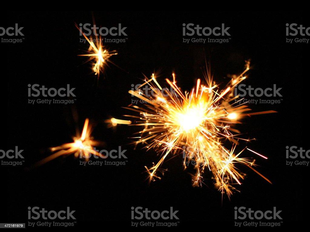 spark stock photo