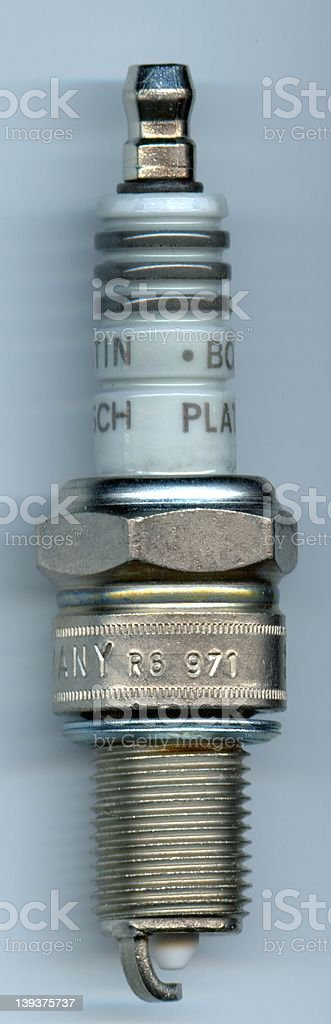 Spark Plug royalty-free stock photo