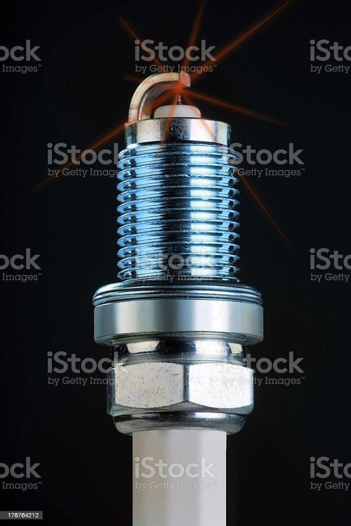 Spark Plug. royalty-free stock photo