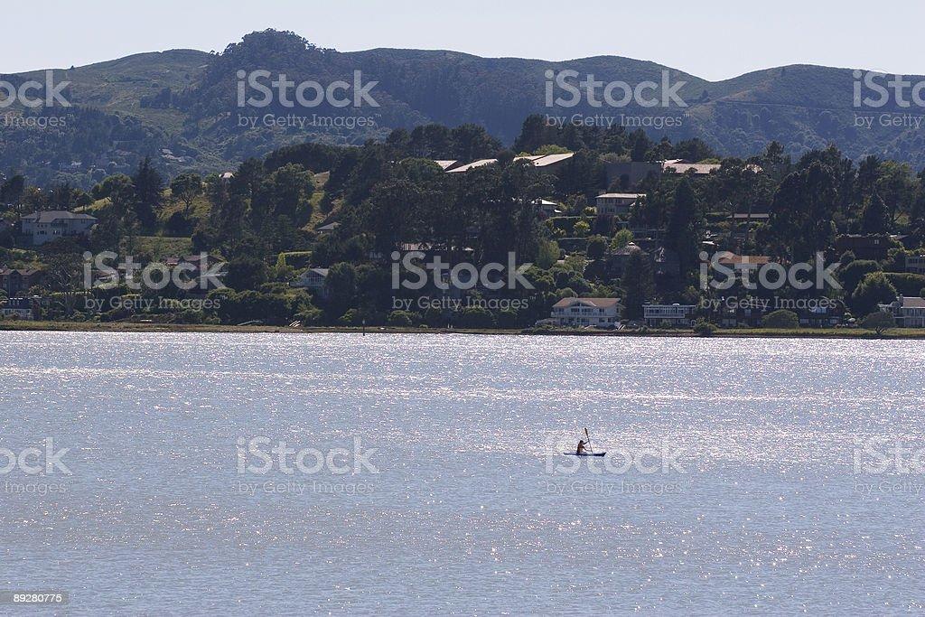 Sparkle Kayak royalty-free stock photo